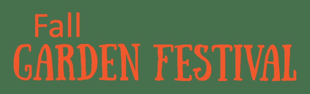 Fall Garden Festival